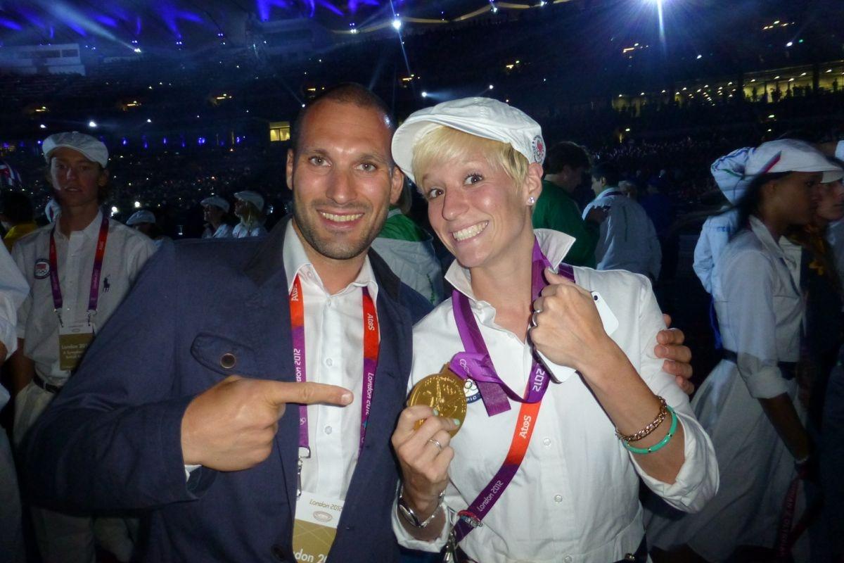 Fußball Olympiasiegerin USA