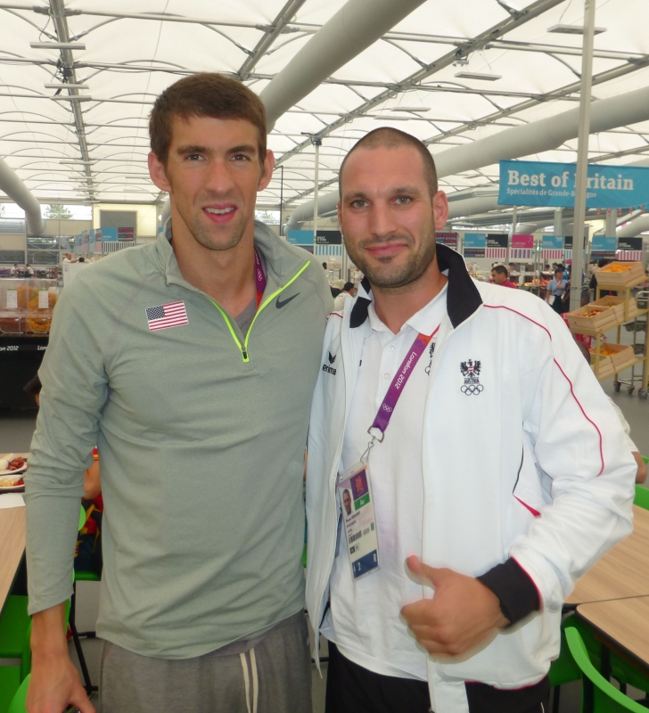 Michael Phelps, 18x Olympiasieger Schwimmen, USA