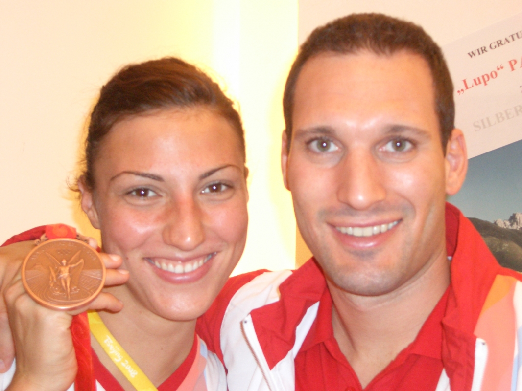 Mirna Jukic, Schwimmen Olympia Bronze Peking 2008