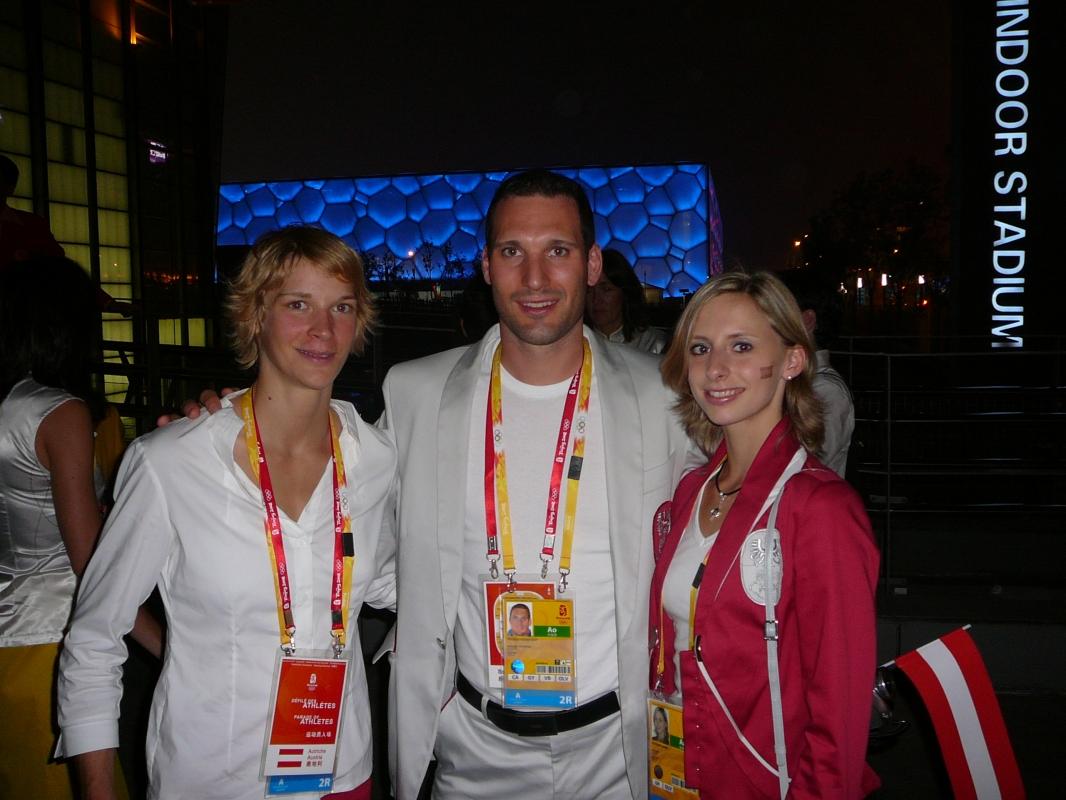 Sabrina Filzmoser, Judo / Caro Weber, Ryth.Gymnastik