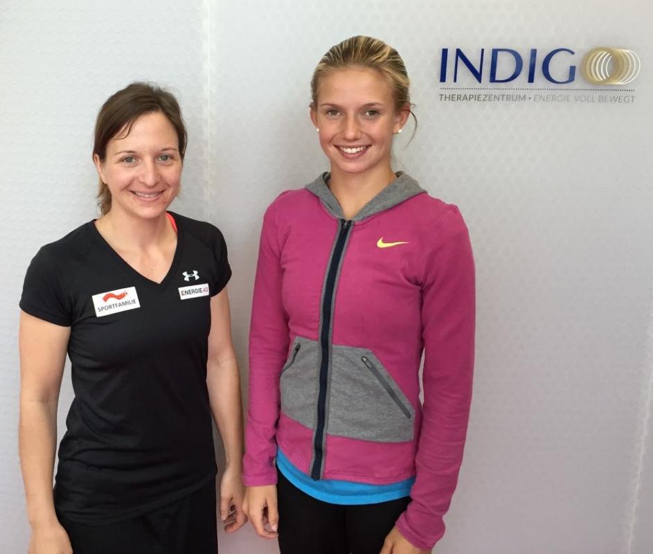 Staudinger Christina (ÖSV-Skicross) / Haas Barbara (ÖTV-Tennis)