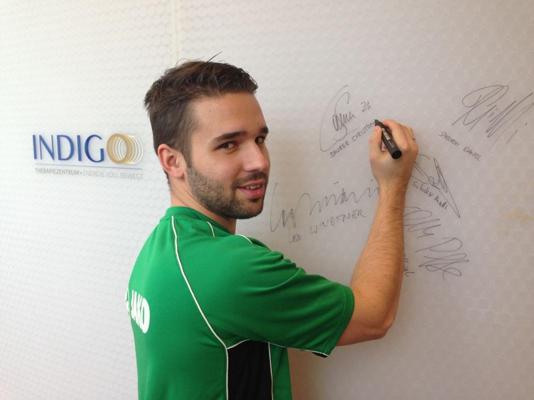 Saurer Christoph, Fußball Profi