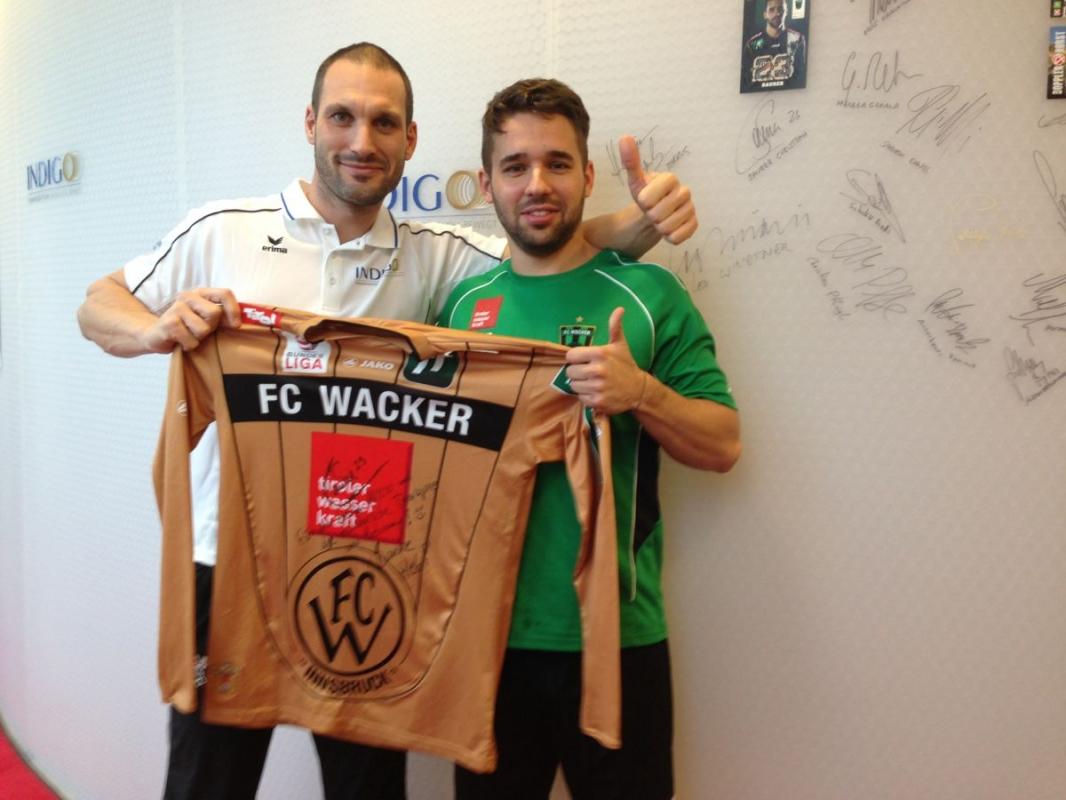 Saurer Christoph, Fußball - FC Wacker Innsbruck