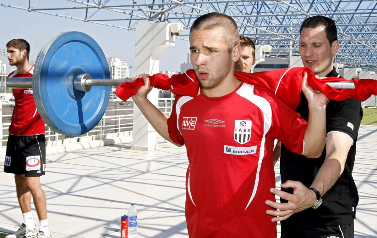 Saurer Christoph, Fußball (LASK)