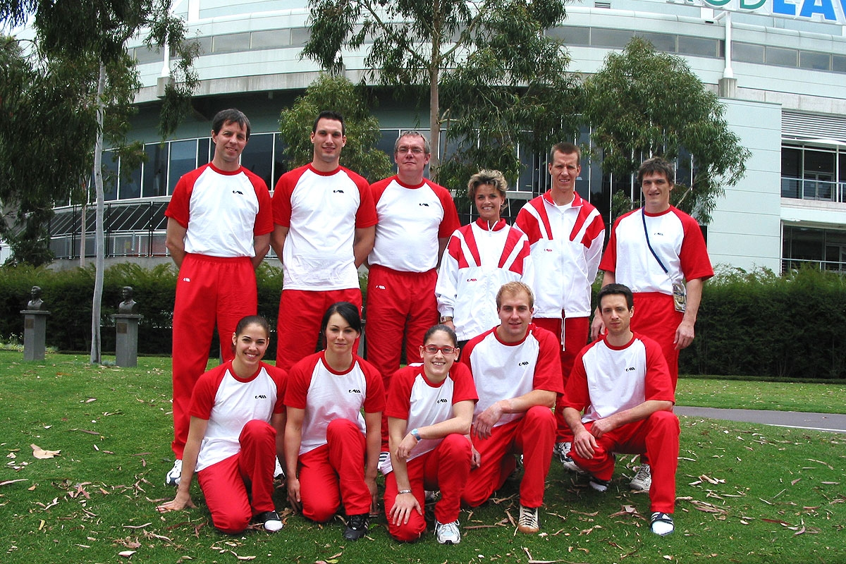 Turn Nationalteam, WM Melbourne 2005