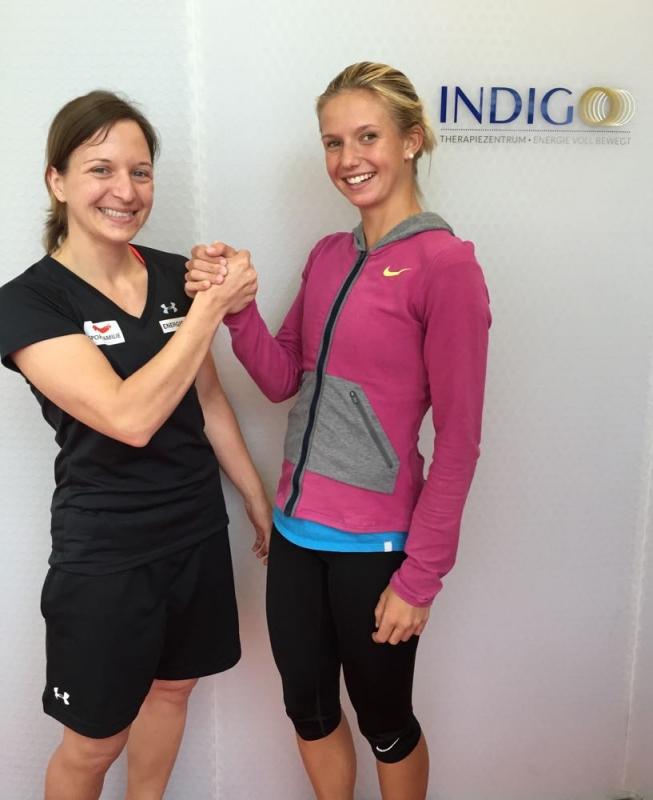 Staudinger Christina (Skicross) / Haas Barbara (Tennis)
