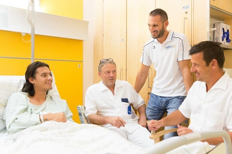 Vastic Toni, Dr. Schneiderbauer, Dr. Barthofer, Hebenstreit