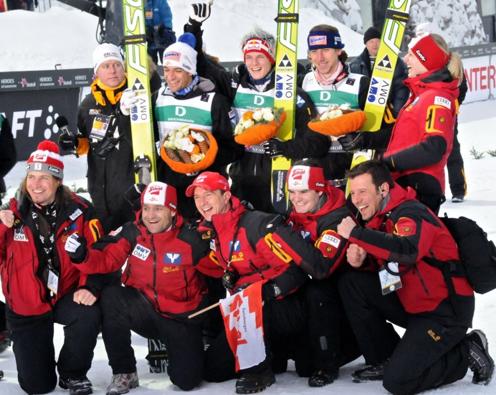 Skisprung Nationalteam Austria