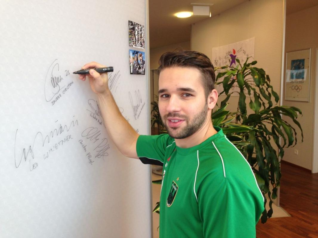 Saurer Christoph, Fußball FC Wacker Innsbruck