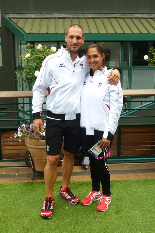 Tamira Paszek (London 2012 / Wimbledon)