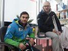 Mayrpeter Tom (ÖSV-Ski Alpin Weltcup), Illek Stefan (Presse-Chef Marcel Hirscher)